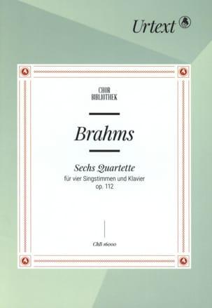 Johannes Brahms - Partition - di-arezzo.com