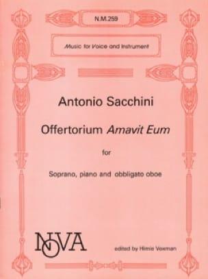 Offertorium Amavit Eum - Antonio Sacchini - laflutedepan.com