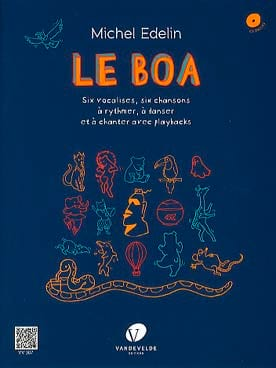 Le Boa Michel Edelin Livre Technique vocale et chorale - laflutedepan