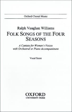 Folksongs Of The 4 Seasons. - WILLIAMS VAUGHAN - laflutedepan.com