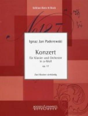 Concerto En la Mineur Op. 17 - Ignacy Paderewski - laflutedepan.com