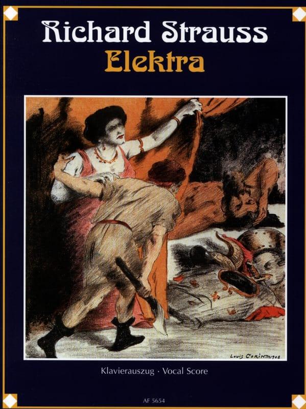 Elektra Opus 58 - Richard Strauss - Partition - laflutedepan.com
