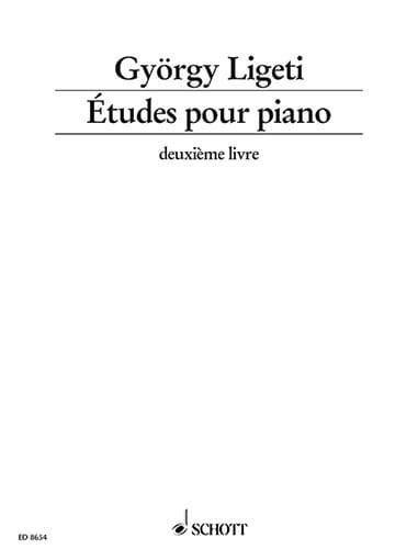 Etudes Volume 2 - LIGETI - Partition - Piano - laflutedepan.com