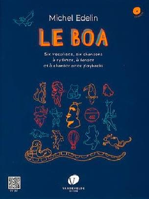 Le Boa - Michel Edelin - Livre - laflutedepan.com
