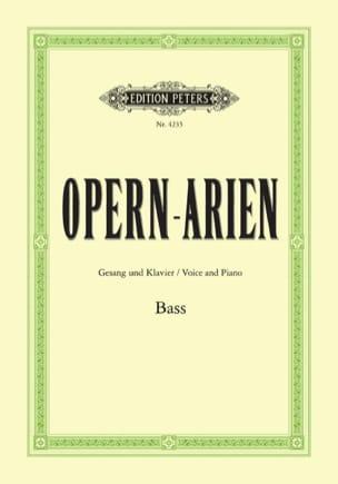 Opern Arien Basse Partition Recueils - laflutedepan