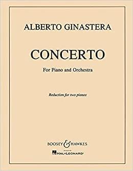 Concerto n° 1 Pour Piano Opus 28 - GINASTERA - laflutedepan.com