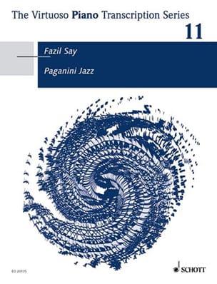 Paganini Jazz SAY Partition Piano - laflutedepan