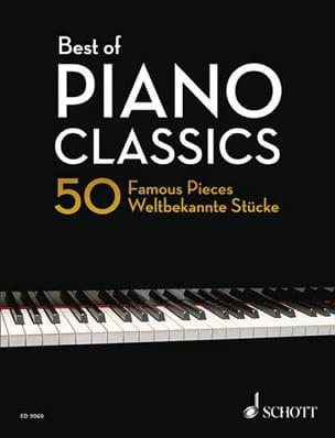 Best Of Piano Classics - Partition - di-arezzo.fr