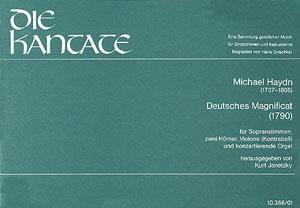 Magnificat Richte dich auf - Michael HAYDN - laflutedepan.com