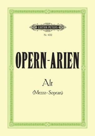 Opern Arien Mezzo Alto Partition Opéras - laflutedepan