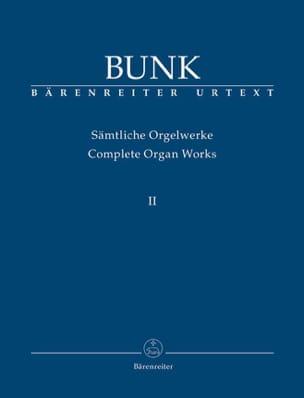 Sämtliche Orgelwerke Volume 2 Gerard Bunk Partition laflutedepan