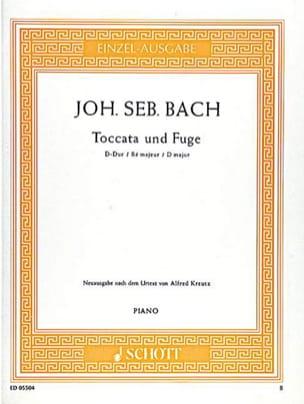 Toccata et Fugue En Ré Majeur BWV 912 BACH Partition laflutedepan