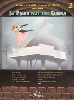 Le Piano Fait son Cinéma. Volume 2 Partition Piano - laflutedepan