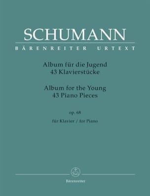 Album pour la jeunesse op. 68 SCHUMANN Partition Piano - laflutedepan
