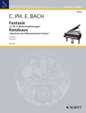 Fantaisie et rondeau Wq 67 Carl-Philipp Emanuel Bach laflutedepan