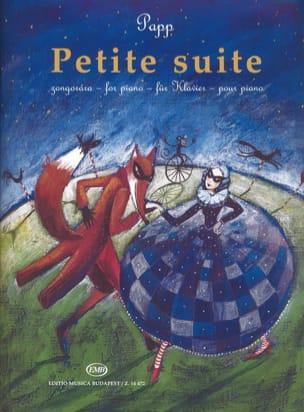 Petite suite Lajos Papp Partition Piano - laflutedepan