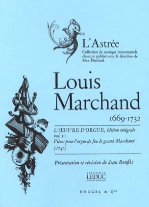 Oeuvre D'orgue Volume 1 Marchand Louis / Bonfils Jean laflutedepan