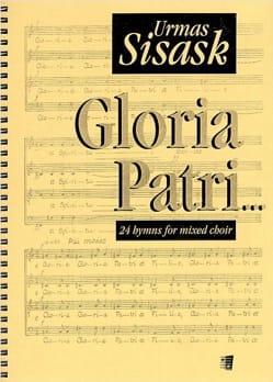 Gloria Patri Urmas Sisask Partition Chœur - laflutedepan