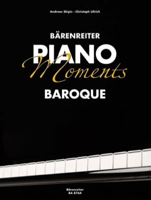 Piano Moments. Baroque Partition Piano - laflutedepan