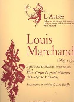Oeuvre D'orgue Volume 2 Marchand Louis / Bonfils Jean laflutedepan