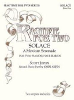 Solace. 2 Pianos JOPLIN Partition Piano - laflutedepan