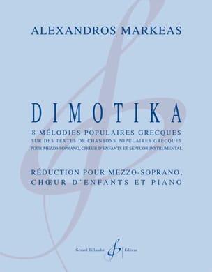Dimotika Alexandros Markeas Partition Chœur - laflutedepan