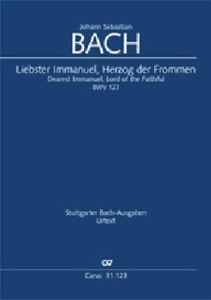 Cantate 123 Liebster Immanuel, Herzog der Frommen - laflutedepan.com