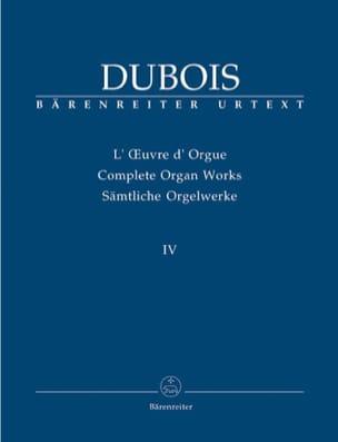 Oeuvre D'orgue. Volume 4 Théodore Dubois Partition laflutedepan
