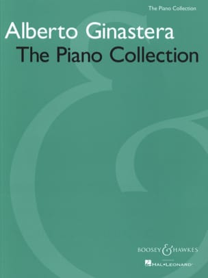 The Piano Collection GINASTERA Partition Piano - laflutedepan