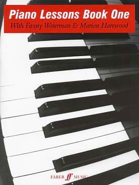 Piano Lessons Book 1 - Waterman - Harewood - laflutedepan.com
