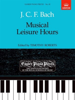 Musical Leisure Hours Johann Christoph Friedrich Bach laflutedepan
