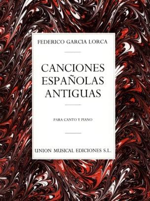 12 Canciones Españolas Antiguas Lorca Federico Garcia laflutedepan