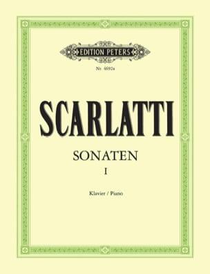Sonates Volume 1 SCARLATTI Partition Clavecin - laflutedepan