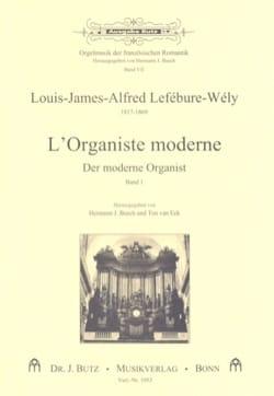 L'Organiste Moderne, Volume 1 LEFÉBURE-WÉLY Partition laflutedepan