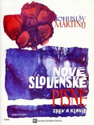 Nove Slovenske Pisne - MARTINU - Partition - laflutedepan.com