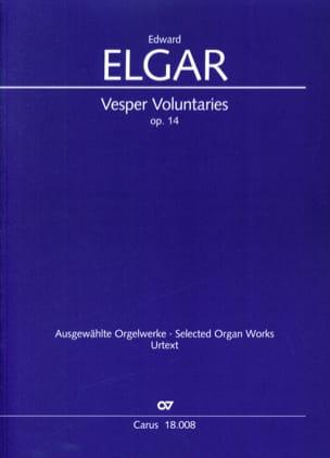 Vesper Voluntaries op. 14 ELGAR Partition Orgue - laflutedepan