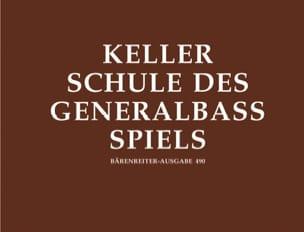 Schule des Generalbaßspiels Hermann Keller Partition laflutedepan