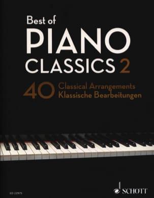 Best Of Classics Volume 2 Partition Piano - laflutedepan