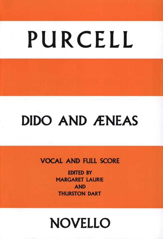 Didon et Enée - PURCELL - Partition - Petit format - laflutedepan.be