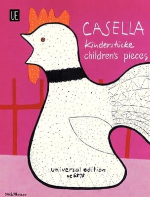 11 Pièces Pour Enfants Alfredo Casella Partition Piano - laflutedepan