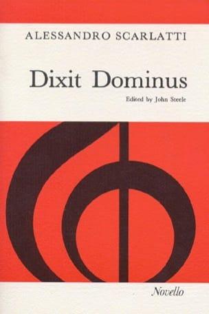 Dixit Dominus Alessandro Scarlatti Partition Chœur - laflutedepan