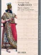 Nabucco VERDI Partition Opéras - laflutedepan