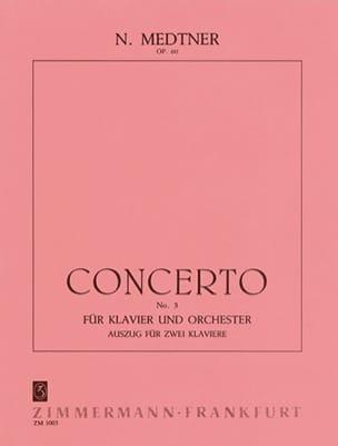 Nicolai Medtner - Concierto para piano n.º 3 Op. 60 - Partition - di-arezzo.es