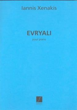 Evryali XENAKIS Partition Piano - laflutedepan