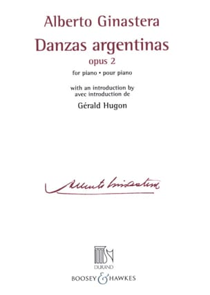 Danses argentines Opus 2 GINASTERA Partition Piano - laflutedepan