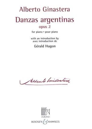 Danses argentines Opus 2 GINASTERA Partition Piano - laflutedepan