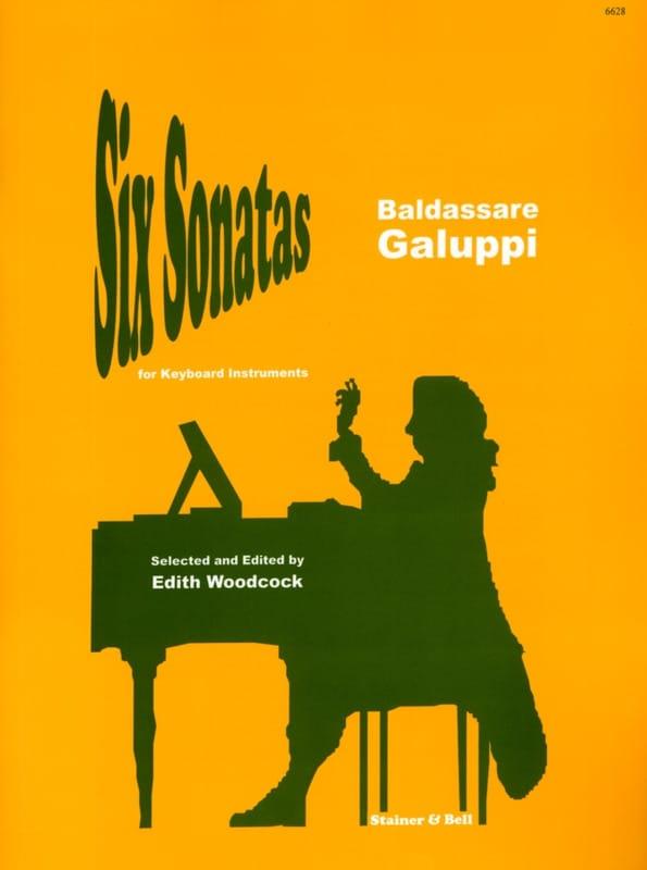 6 Sonates - Baldassare Galuppi - Partition - laflutedepan.com
