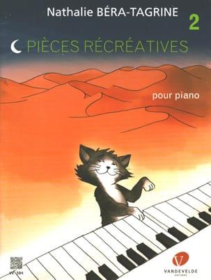 Pièces récréatives Volume 2 TAGRINE Partition Piano - laflutedepan