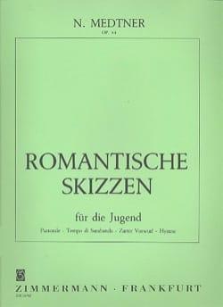 Nicolai Medtner - Romantische Skizzen Op. 54 - Partition - di-arezzo.es