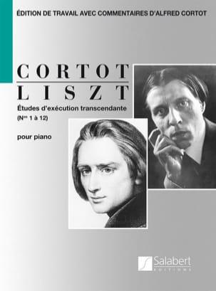 Etudes d'exécution transcendante LISZT Partition Piano - laflutedepan